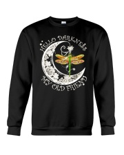 HELLO DARKNESS MY OLD FRIENDS Crewneck Sweatshirt thumbnail