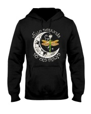 HELLO DARKNESS MY OLD FRIENDS Hooded Sweatshirt tile