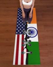 India Yoga Mat Yoga Mat 24x70 (vertical) aos-yoga-mat-lifestyle-24