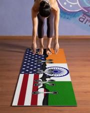 India Yoga Mat Yoga Mat 24x70 (vertical) aos-yoga-mat-lifestyle-25