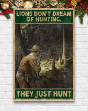 LIONS DON'T DREAM OF HUNTING THEY HUNT 24x36 Poster aos-poster-portrait-24x36-lifestyle-21