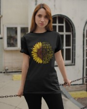 SHE'S A SUNFLOER GIRLS Classic T-Shirt apparel-classic-tshirt-lifestyle-19