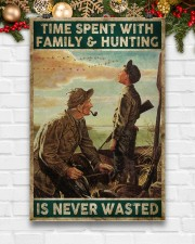 Spent time on hunting is never wasted  24x36 Poster aos-poster-portrait-24x36-lifestyle-21