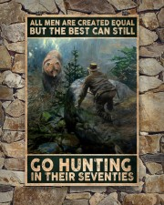 THE BEST MAN CAN GO HUNTING IN THEIR SEVENTIES 24x36 Poster aos-poster-portrait-24x36-lifestyle-16