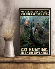 THE BEST MAN CAN GO HUNTING IN THEIR SEVENTIES 24x36 Poster lifestyle-poster-3