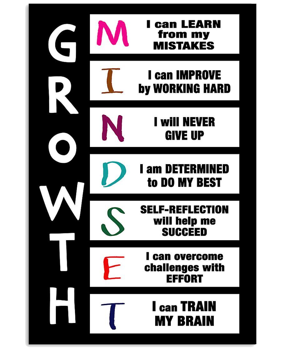GROWTH MINDSET 11x17 Poster
