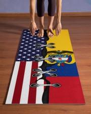 Colombia Yoga Mat Yoga Mat 24x70 (vertical) aos-yoga-mat-lifestyle-26