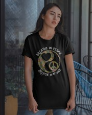 BREATHE In PEACE - BREATHE OUT LOVE Classic T-Shirt apparel-classic-tshirt-lifestyle-08