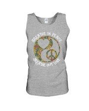 BREATHE In PEACE - BREATHE OUT LOVE Unisex Tank thumbnail