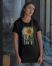 SUNFLOWERS Classic T-Shirt apparel-classic-tshirt-lifestyle-08