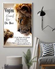 VEGISS NIEMALS WER DU BIST 11x17 Poster lifestyle-poster-1