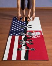 Poland Yoga Mat Yoga Mat 24x70 (vertical) aos-yoga-mat-lifestyle-26