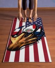 Dominicana Yoga Mat Yoga Mat 24x70 (vertical) aos-yoga-mat-lifestyle-26
