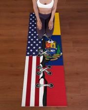 Venezuela Yoga Mat Yoga Mat 24x70 (vertical) aos-yoga-mat-lifestyle-24