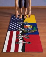 Venezuela Yoga Mat Yoga Mat 24x70 (vertical) aos-yoga-mat-lifestyle-26