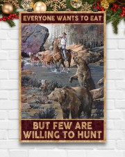 Everyone wants to eat but few are willing to hunt 24x36 Poster aos-poster-portrait-24x36-lifestyle-21