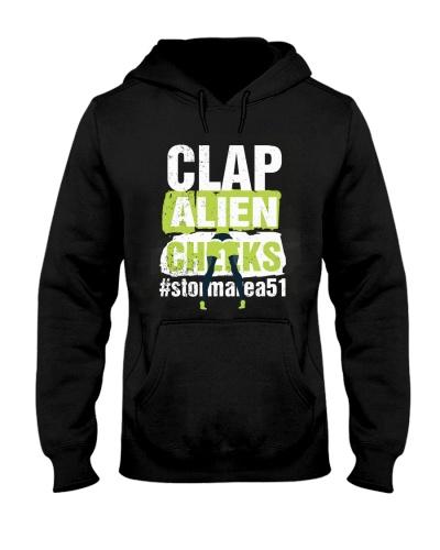 CLAP ALIEN CHEEKS
