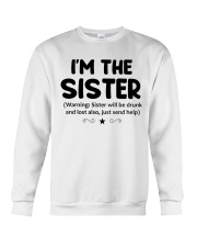 I'M THe SISTER Crewneck Sweatshirt thumbnail
