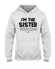 I'M THe SISTER Hooded Sweatshirt thumbnail