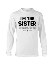 I'M THe SISTER Long Sleeve Tee thumbnail