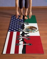 Mexico Yoga Mat Yoga Mat 24x70 (vertical) aos-yoga-mat-lifestyle-26