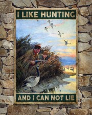 I LIKE HUNTING AND I CAN NOT LIE 24x36 Poster aos-poster-portrait-24x36-lifestyle-16