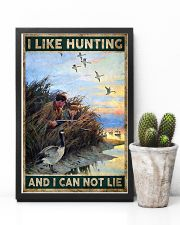 I LIKE HUNTING AND I CAN NOT LIE 24x36 Poster lifestyle-poster-8