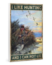 I LIKE HUNTING AND I CAN NOT LIE Gallery Wrapped Canvas Prints tile