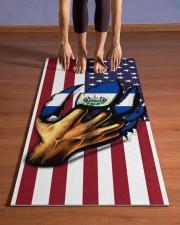 El Salvador Yoga Mat Yoga Mat 24x70 (vertical) aos-yoga-mat-lifestyle-26