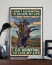 I go hunting to live my life poster 24x36 Poster lifestyle-poster-2