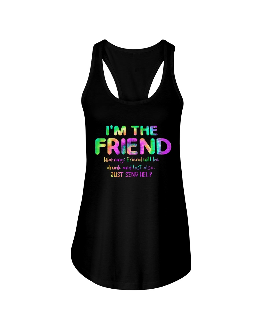 I'm The Friend Ladies Flowy Tank