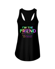 I'm The Friend Ladies Flowy Tank front