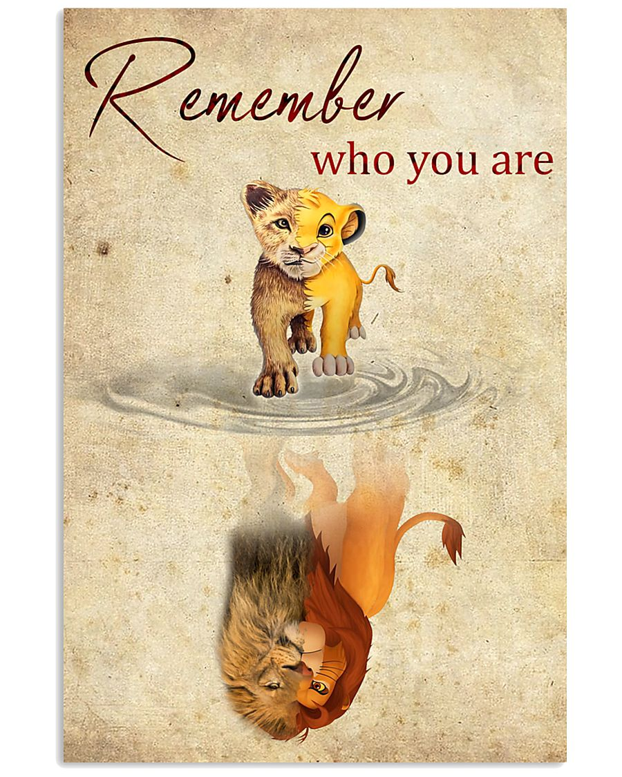 REMEMBER WHO YOU ARE 24x36 Poster