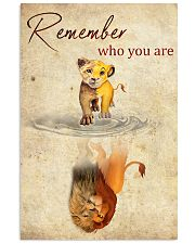 REMEMBER WHO YOU ARE 24x36 Poster front