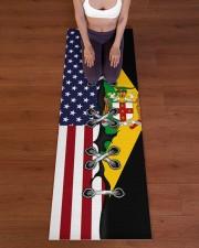 Jamaica Yoga Mat Yoga Mat 24x70 (vertical) aos-yoga-mat-lifestyle-24