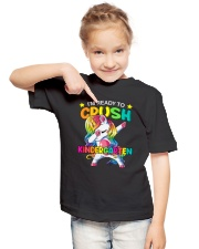 KINDERGARTEN GRADE Youth T-Shirt lifestyle-youth-tshirt-front-2
