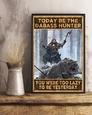 BE THE DABASS HUNTER 24x36 Poster lifestyle-poster-3