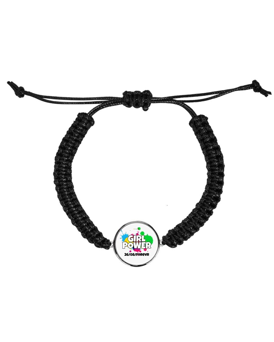GIRL PWR Cord Circle Bracelet