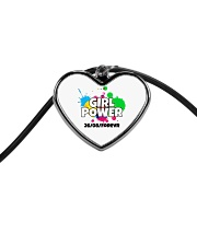 GIRL PWR Cord Heart Necklace thumbnail
