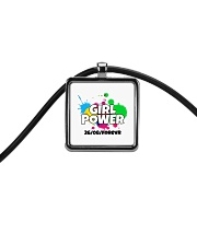 GIRL PWR Cord Rectangle Necklace thumbnail