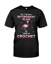 I Plan On Crochet Classic T-Shirt thumbnail