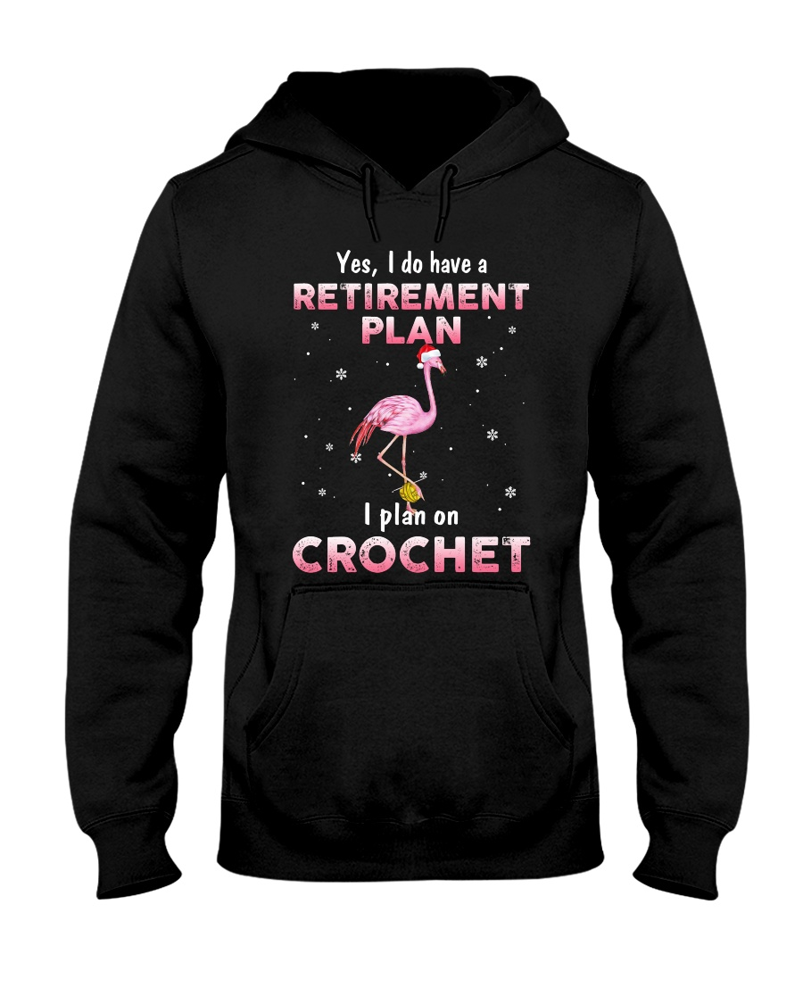 I Plan On Crochet Hooded Sweatshirt