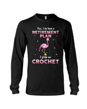 I Plan On Crochet Long Sleeve Tee thumbnail