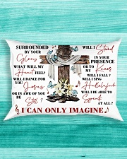 For Jesus Lovers Rectangular Pillowcase aos-pillow-rectangle-front-lifestyle-5