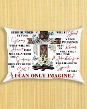 For Jesus Lovers Rectangular Pillowcase aos-pillow-rectangle-front-lifestyle-6
