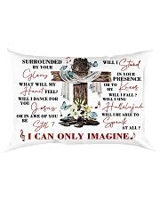 For Jesus Lovers Rectangular Pillowcase back