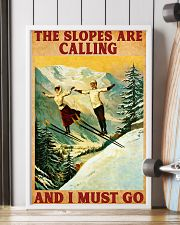 Skiing The Slopes Are Calling 11x17 Poster lifestyle-poster-4