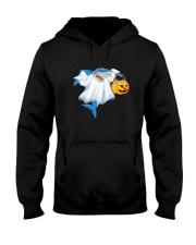 Ghost Shark Hooded Sweatshirt thumbnail