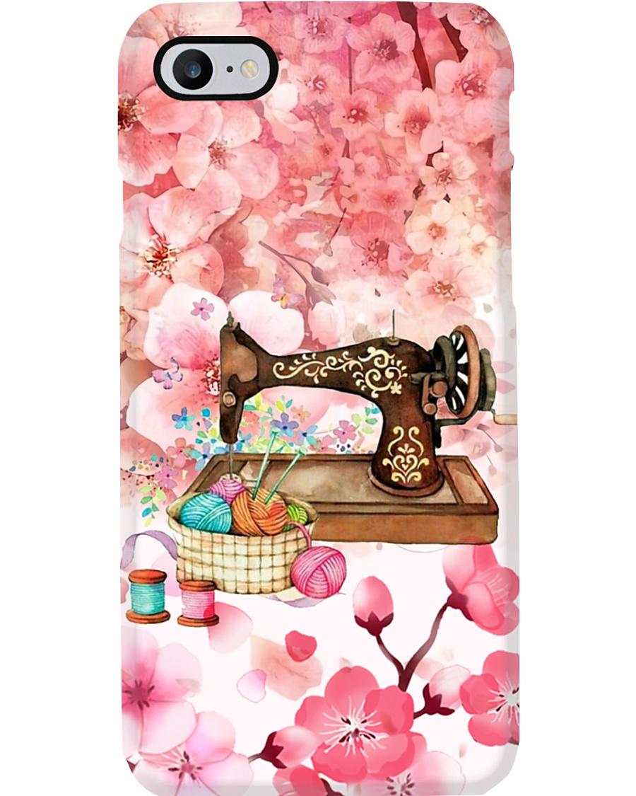 Sew Machine And Sakura Phone Case