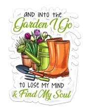 Into The Gardening I Go  Sticker - Single (Vertical) front